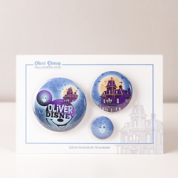 SET 3 CHAPAS OLIVER DISNEY...