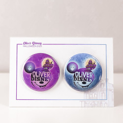 SET 2 CHAPAS OLIVER DISNEY...